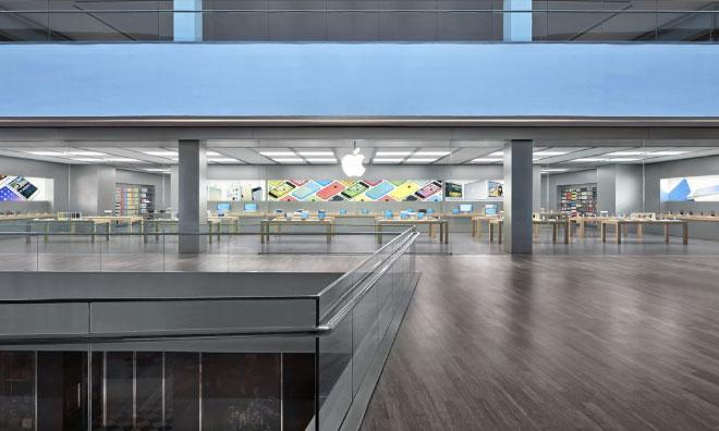 thousands show up for the opening of the first apple store in latin america. Black Bedroom Furniture Sets. Home Design Ideas