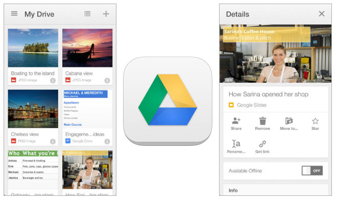 Google Drive and SugarSync cloud storage iOS apps updated with new ...