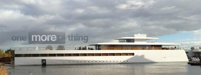 Steve Jobs Apple Inspired Super Yacht Revealed In Netherlands