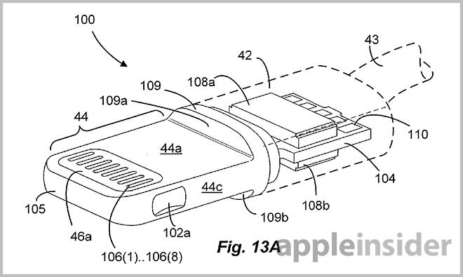 apple's lightning connector detailed in extensive new patent filings lightning bolt lightning wire diagram #8