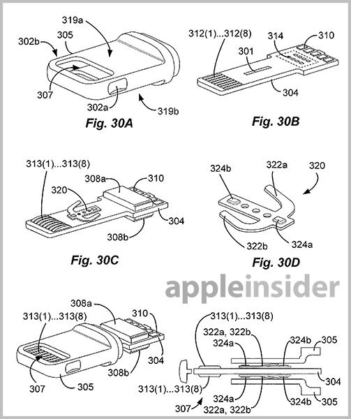 apple s lightning connector detailed in extensive new patent filings rh appleinsider com