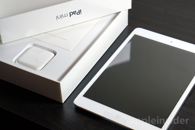 Ipad Mini Retina White