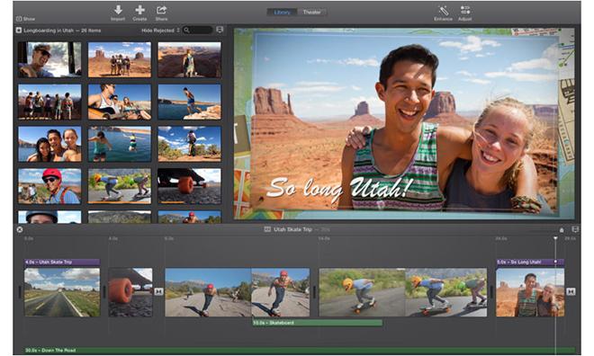extension imovie Mac OS X