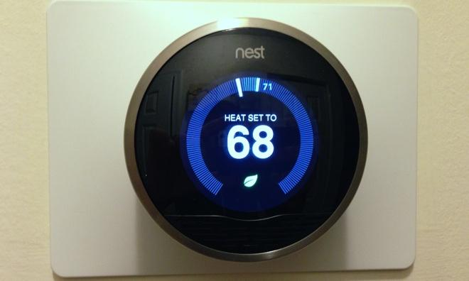 review  nest learning thermostat