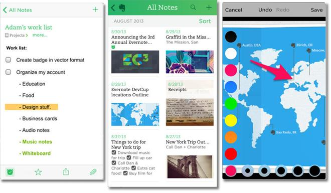 Instapaper goes free as app of the week evernote gets business evernote colourmoves