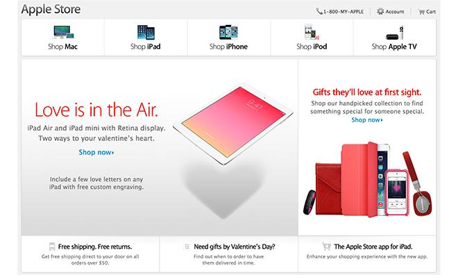 apple updates online store, apple store app for valentine's day, Ideas
