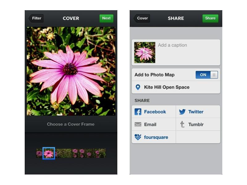 Facebook adds video sharing to Instagram, similar to Vine, Lightt apps