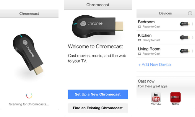 chromecast application for apple tv