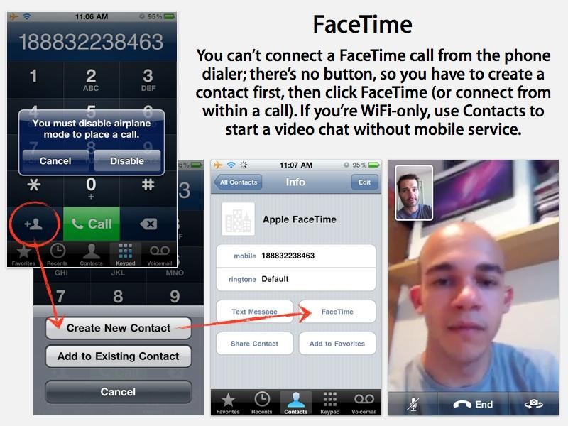 how to get facetime to work on iphone 4