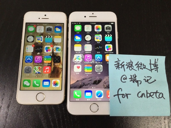 Two Separate Leaks Out Of China On Saturday Supposedly Show Operational Versions Apples Next Generation IPhone Including Images What Appears To Be