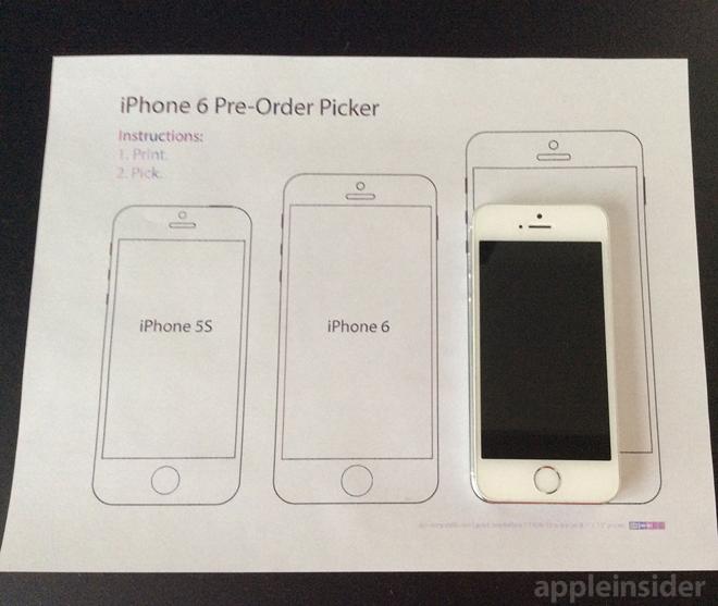 iphone sizes chart