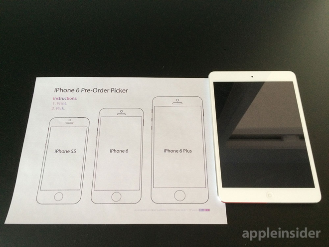 Printable Iphone 6 Pre Order Picker Can Help You Choose The Right