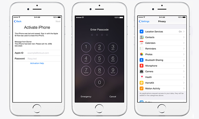 FBI director says iOS and Android privacy features put users 'above the law'