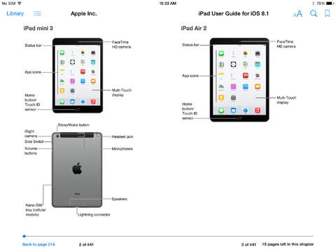Manuals info apple: ipad user guide.