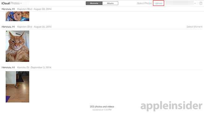 manual icloud com photo uploads now available to all apple users