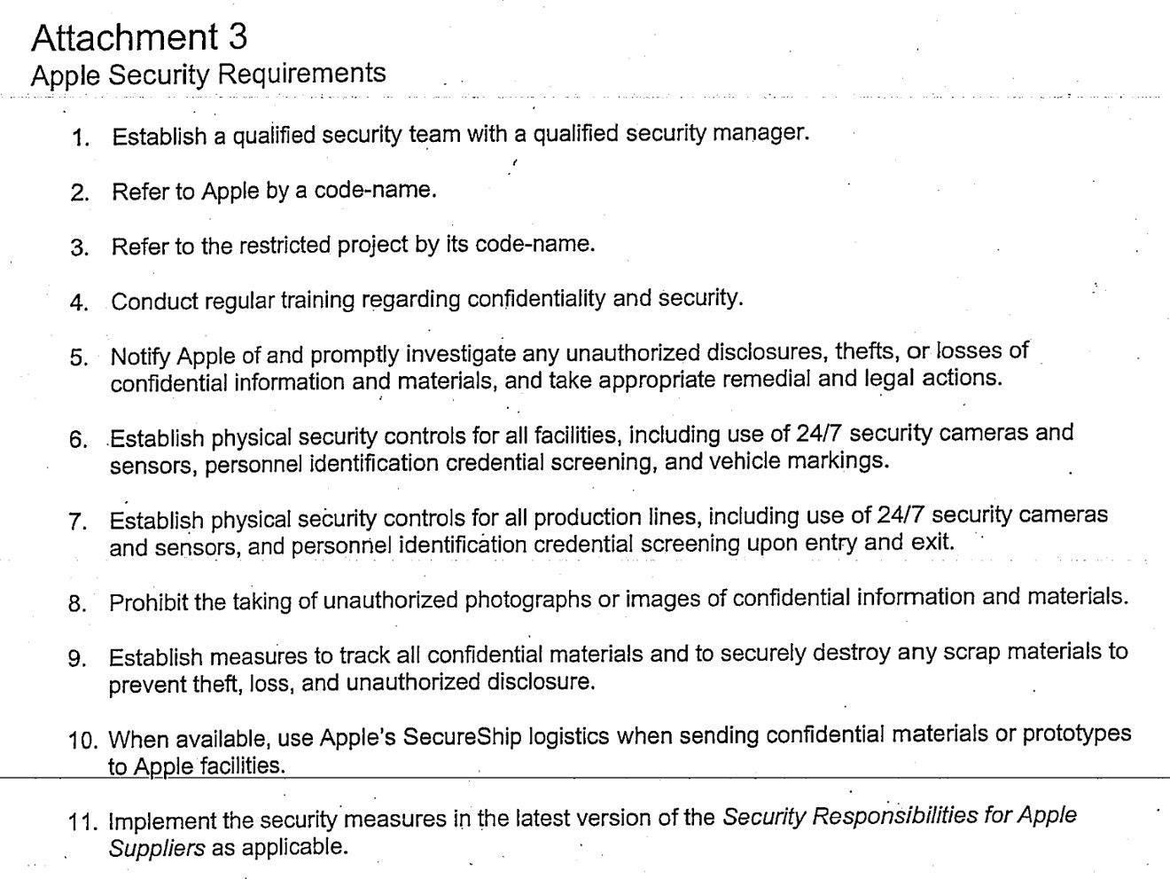 Inside Apples secret confidentiality agreements Code names – Confidentiality Clause Contract