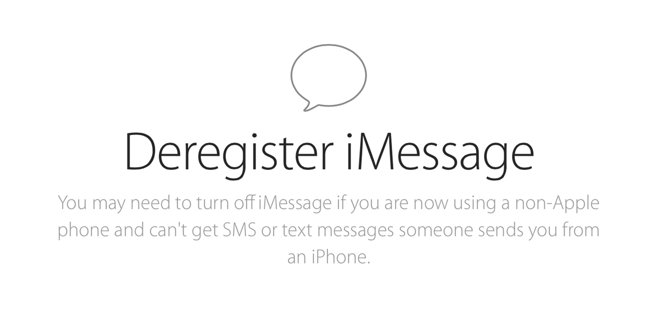 Apple Launches Web Tool To Delist Cell Phone Numbers From Imessages