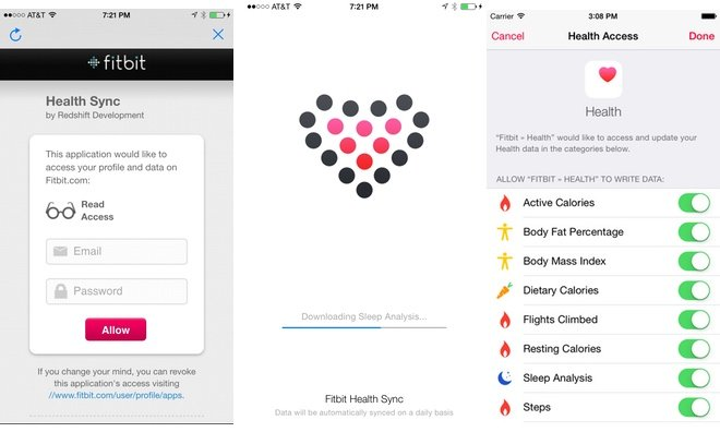 the need for sync solver has come about because fitbit has publicly said they currently have no plans to integrate with apples healthkit capabilities in