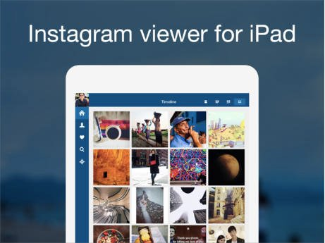 Instagram Application Free Download for iPad Devices