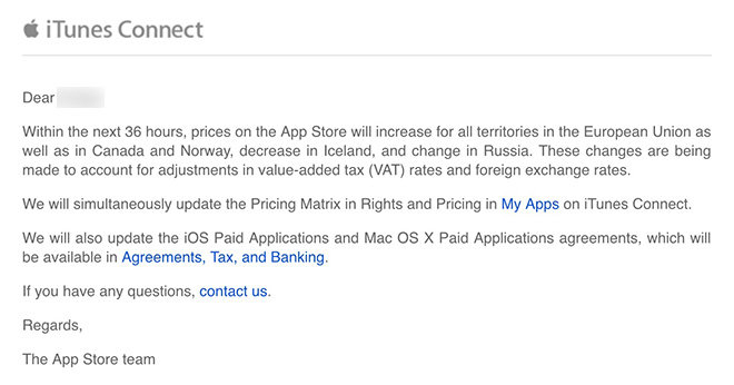 Apple to raise App Store prices in EU and Canada, 'change' Russian ...