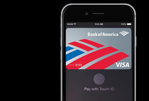 bank of america prepaid apple pay