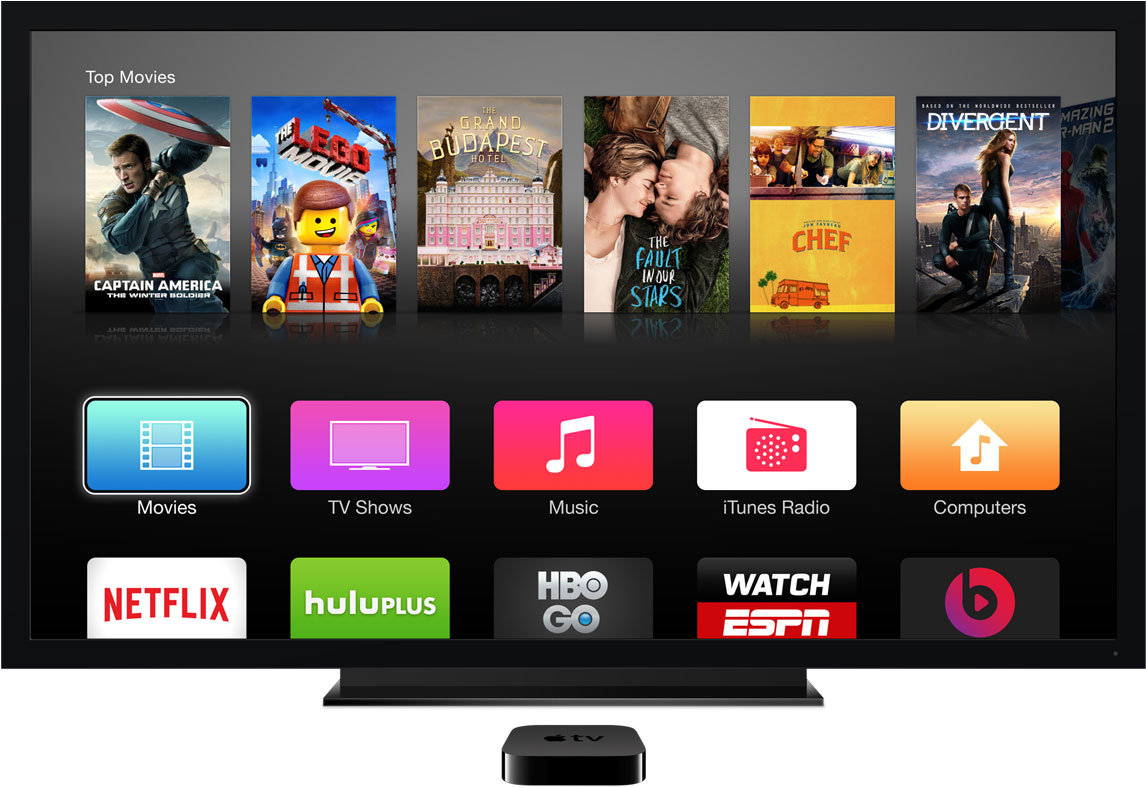 how to add apps to apple tv 2