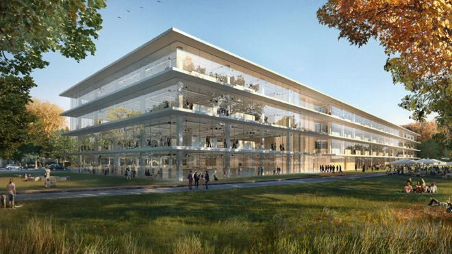 Apple Inc Campus 2 Phase 2 plans RD facilities big enough to