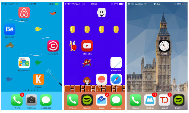 Makeovr Web App Lets IPhone Users Create Blank Spaces On Home Screen