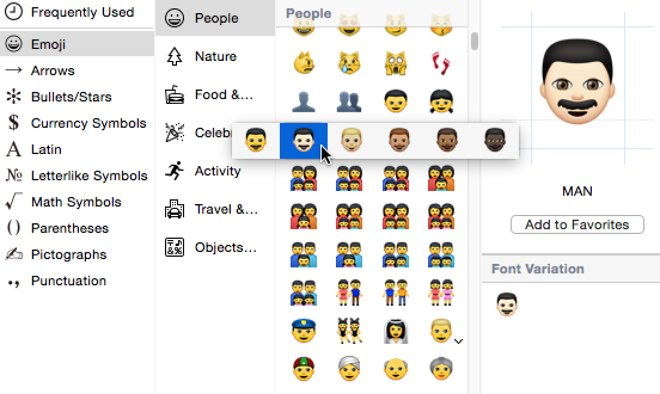 Apple Introduces Emoji Diversity Options With Latest IOS 83 OS X 10103 Betas
