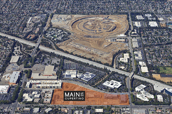 real estate professionals in the area have heard rumors that apple will eventually retract into campus 2 once construction on massive development is cupertino office
