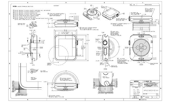 apple publishes apple watch band design guidelines for