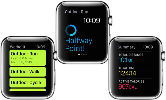 Since Apple currently does not allow developer access to Watch\u0027s heart rate  sensor, its own Workout app is by default the most comprehensive for run ...