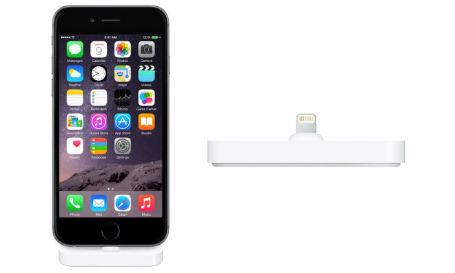 Apple on Tuesday released a small but long anticipated accessory for  iPhone owners with an all new Lightning dock designed to work with the iPhone  6 and  Apple adds new Lightning dock for iPhone 6  6 Plus. Apple Lightning Dock For Iphone 6. Home Design Ideas
