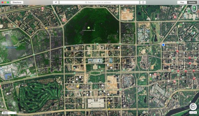 china google maps alternative