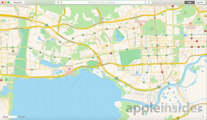 Apple maps in china offer a sneak peek at whats in store for maps apple maps in china are better than apple maps in the us gumiabroncs Choice Image