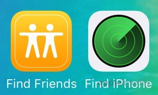 find my iphone friends become built in apps in apple s first ios 9