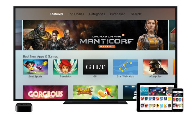 Overhauled 149 Apple Tv Features App Store Siri Remote And Cross