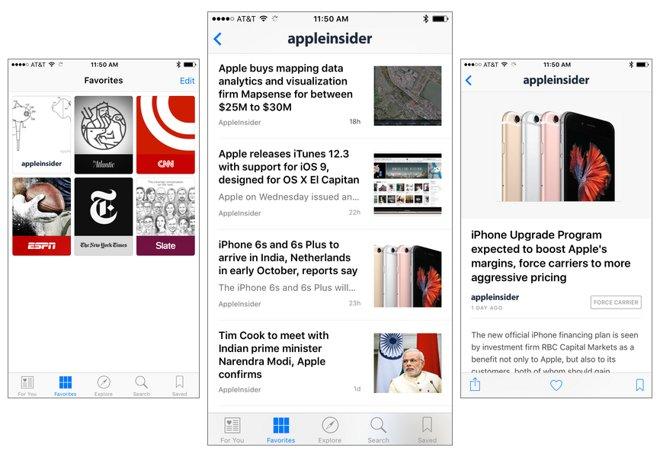 Apple News app scores exclusive \
