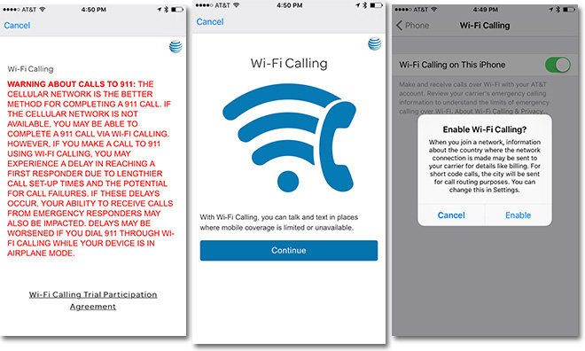 how to use wifi calling on t mobile