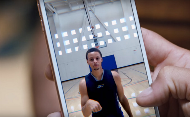 Apple's new iPhone 6s ad features NBA star Steph Curry ...