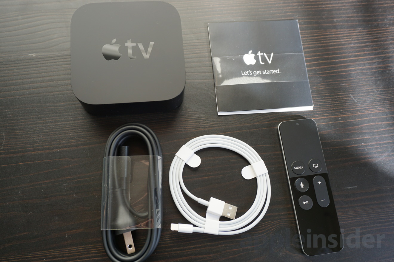 how to set up apple tv fourth generation