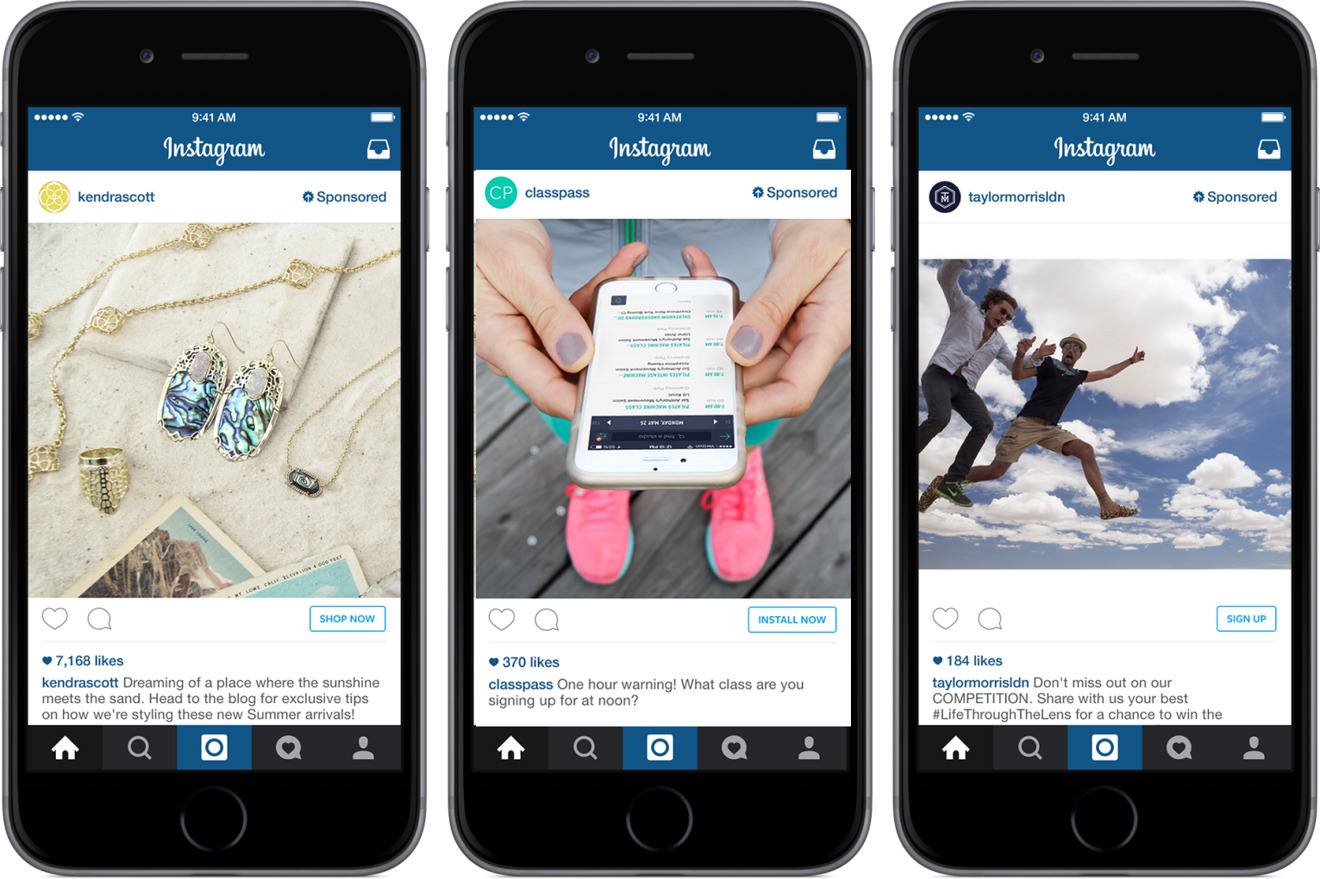 Instagram testing next-gen ads leveraging Apple's 3D Touch ...