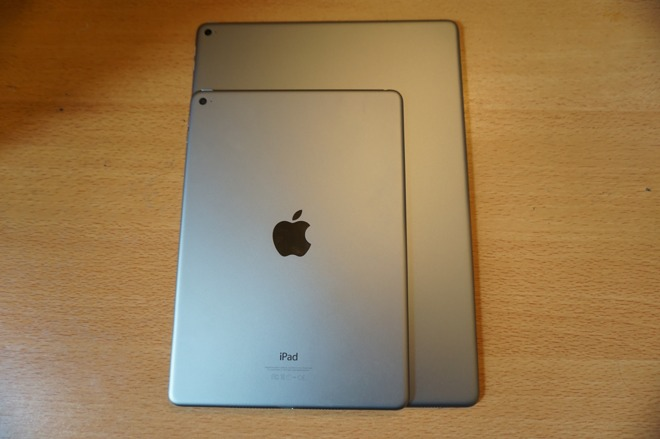 first look apples ipad pro with 129inch retina display