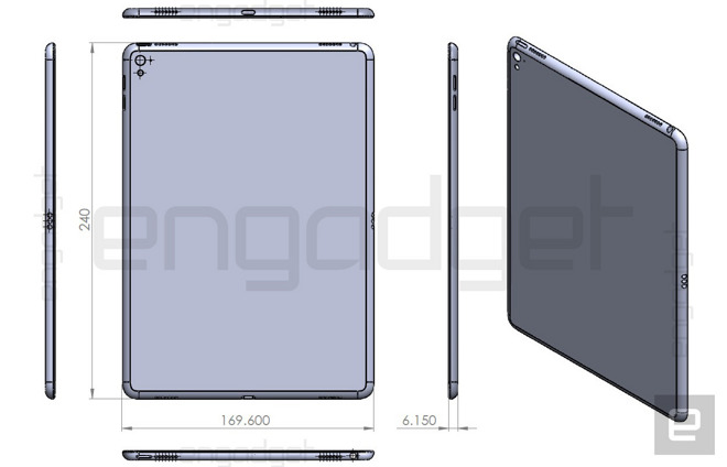 alleged 'ipad air 3' schematic reaffirms smart connector, rear iphone connector pinout ipad connector diagram #8