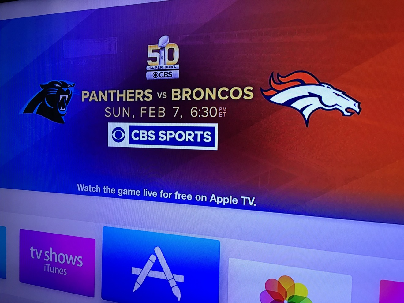 how to watch super bowl 50 on your mac iphone ipad or apple tv
