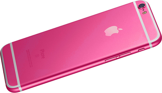 Hot Pink Iphone