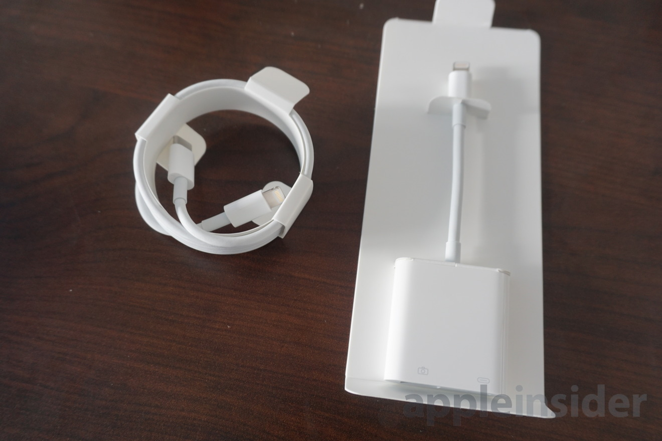 First look: Apple's new USB 3 Lightning to USB-C cable and ...