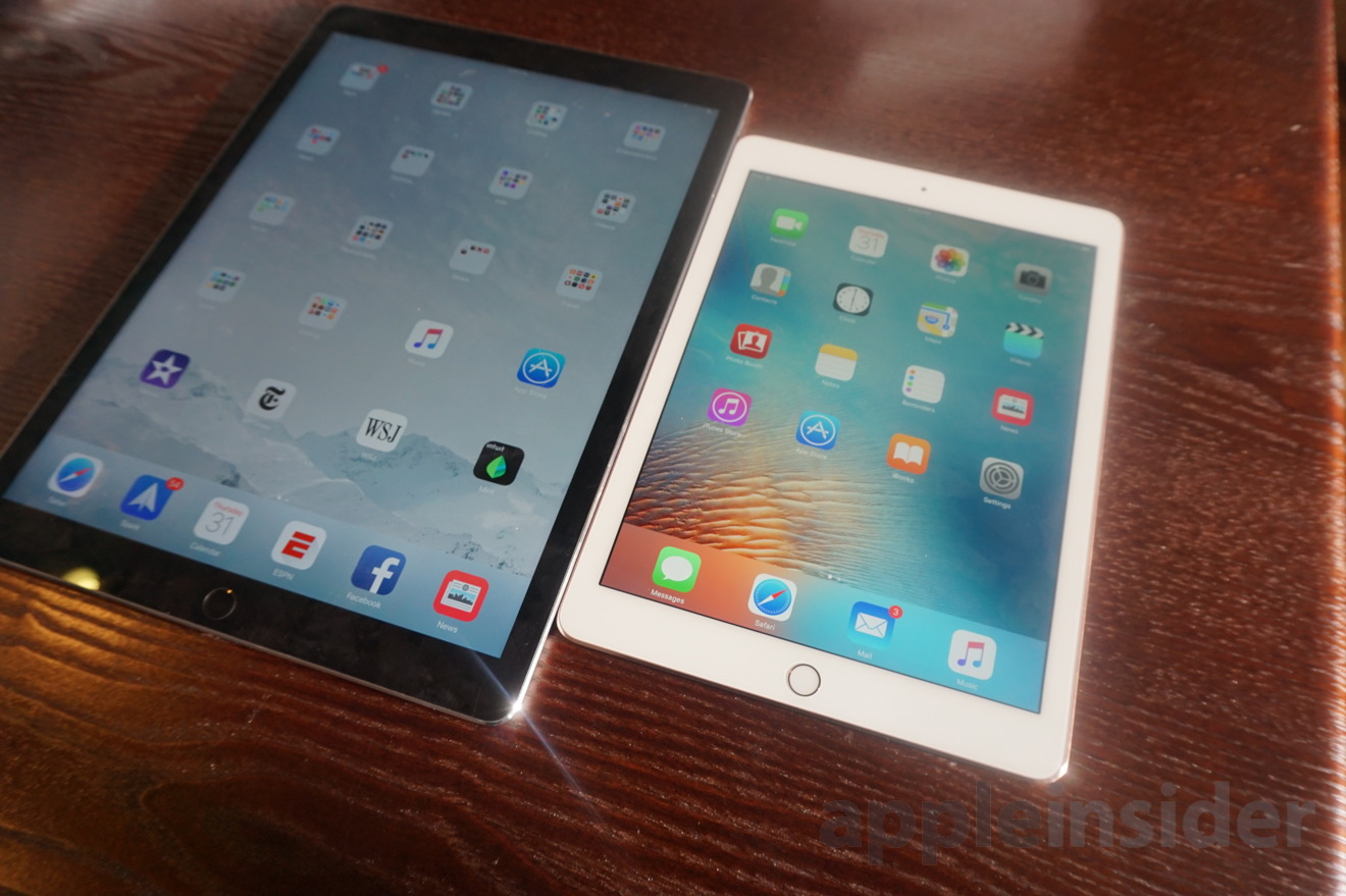apple 39 s 9 7 ipad pro vs 12 9 ipad pro which choice is right for you. Black Bedroom Furniture Sets. Home Design Ideas