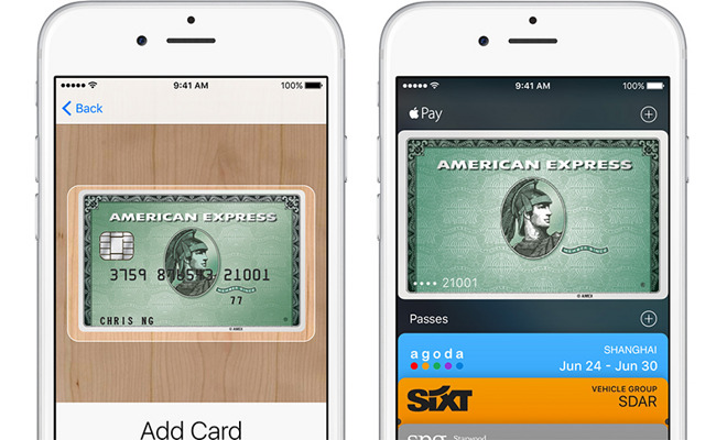 american card payment
