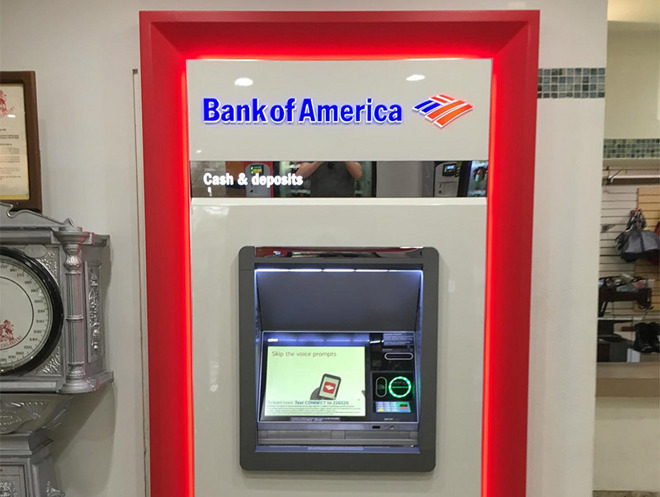 bank of america money network atm locations